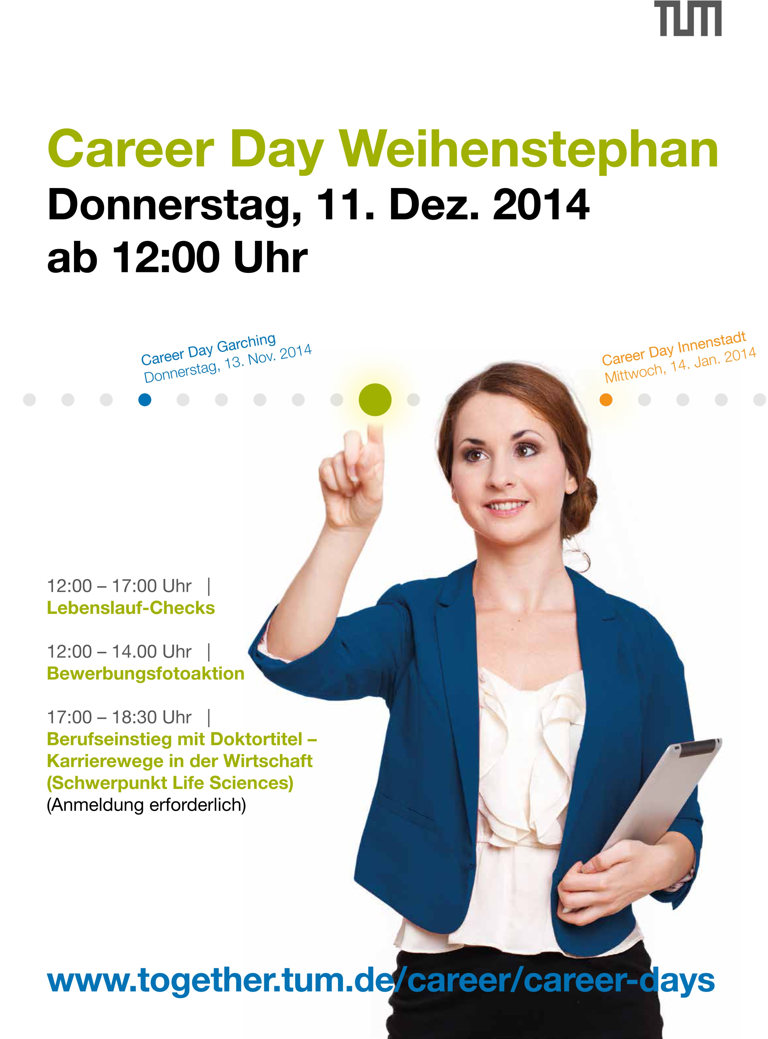 WEB Career Days Plakat 2014